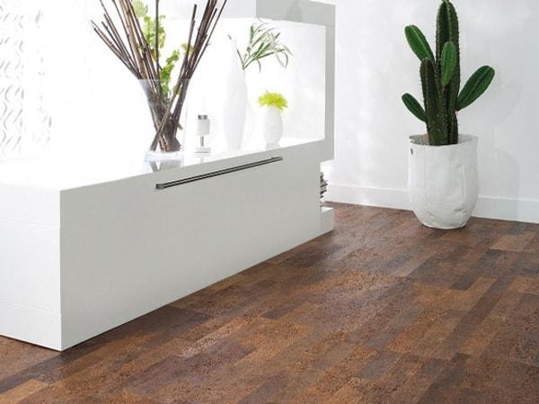 Kurkvloer houten vloeren kurk laminaat pvc en raamdecoratie