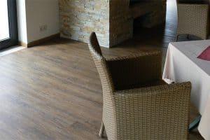 Paste houten vloeren kurk laminaat pvc en raamdecoratie in