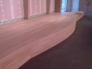 Project kerkelijk centrum de veste gouda houten vloeren kurk